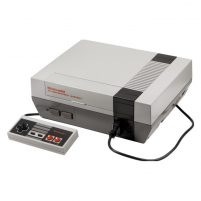 Nintendo Entertainment System (NES) Modded